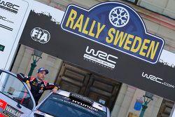 Second place Thierry Neuville and Nicolas Gilsoul, Hyundai i20 WRC, Hyundai Motorsport