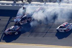 J.J. Yeley, BK Racing Toyota, Reed Sorenson, Team Xtreme Racing Chevrolet, Clint Bowyer, Michael Wal