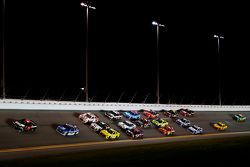 Martin Truex Jr., Furniture Row Racing Chevrolet leads