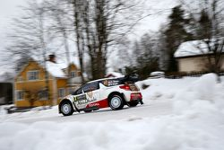 Kris Meeke and Paul Nagle, Citroen DS3 WRC, Citroen Total Abu Dhabi World Rally Team