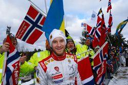 Mads Ostberg, Citroen Total Abu Dhabi World Rally Team