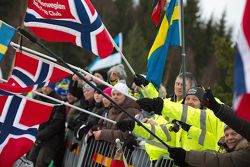 Rally Sweden fans