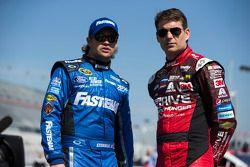 Jeff Gordon, Hendrick Motorsports Chevrolet, Ricky Stenhouse Jr., Roush Fenway Racing Ford