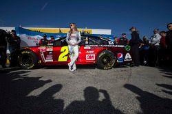 Menina da Coors Light com o carro de Jeff Gordon, Hendrick Motorsports Chevrolet