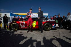 Pole Jeff Gordon, Hendrick Motorsports Chevrolet com chefe de equipe Alan Gustafson