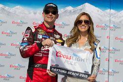 Pole Jeff Gordon, Hendrick Motorsports Chevrolet com Miss Coors Light