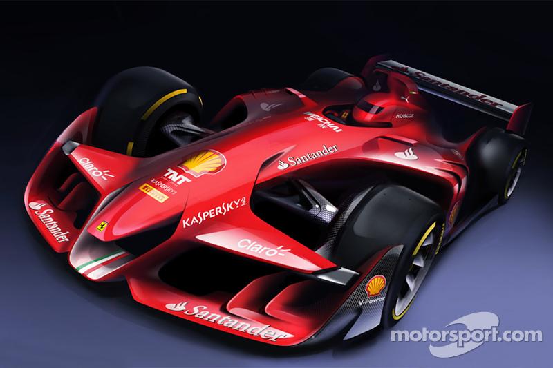 Diseño del prototipo Ferrari Fórmula 1