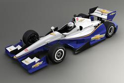 Representación del kit aerodinámico 2015 Chevrolet