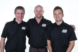 Jason Plato, Warren Scott, en Colin Turkington