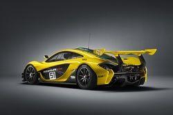 McLaren P1 GTR: présentation
