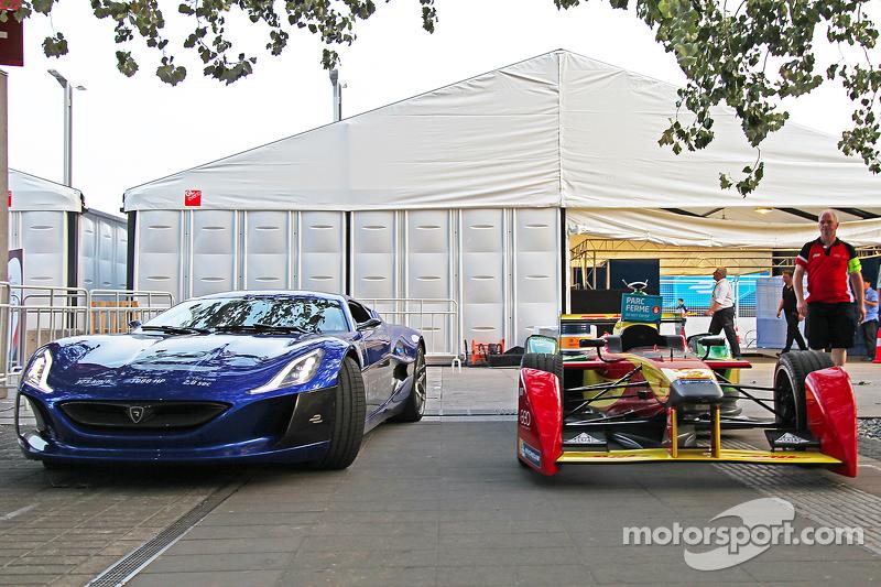 El superdeportivo eléctrico Rimac Automobili