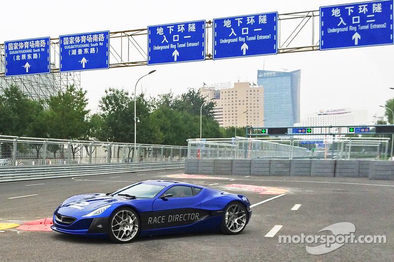 El totalmente eléctrico hypercar Rimac Automobili