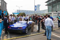 The all-electric Rimac Automobili hypercar