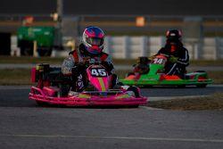 #45 VF Racing: Carlos Vila, Vincent Kupinski, Lee Hudgins, Louis Satteriee, John Sweeney