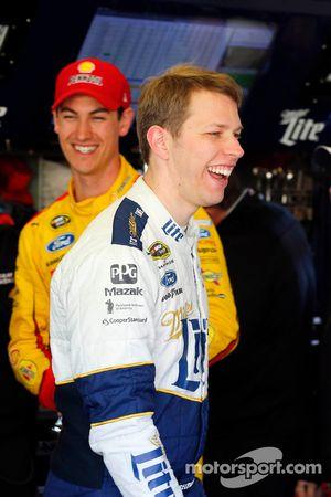 Joey Logano, Team Penske Ford, Brad Keselowski, Team Penske Ford