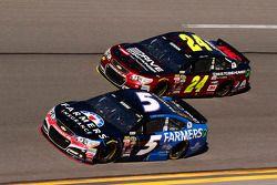 Kasey Kahne, Hendrick Motorsports Chevrolet, Jeff Gordon, Hendrick Motorsports Chevrolet