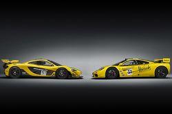 McLaren P1 GTR et McLaren F1 GTR