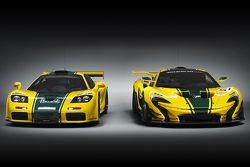 McLaren F1 GTR und McLaren P1 GTR