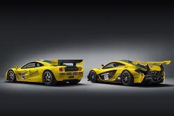 McLaren F1 GTR et la McLaren P1 GTR