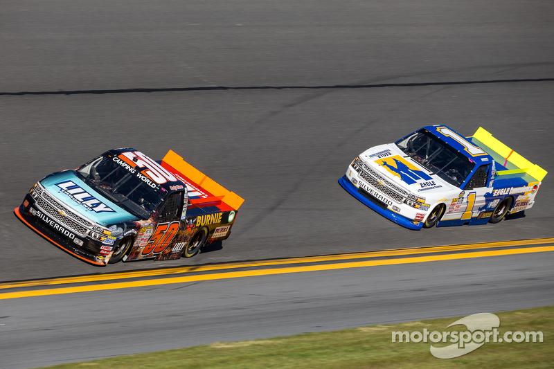 Cody Ware, MAKE Motorsports Chevrolet, Donnie Neuenberger, MAKE Motorsports Chevrolet