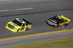 Matt Crafton, ThorSport Racing Toyota, Clay Greenfield, Clay Greenfield Racing Chevrolet