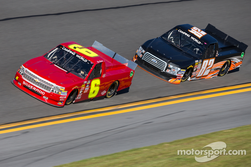 Norm Benning, Norm Benning Racing, Chevrolet, und Austin Hill, Empire Racing, Ford