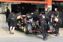 Jolyon Palmer, Test F1 Lotus E23 e pilota di riserva