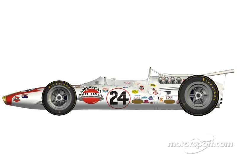 Lola T90, 1966