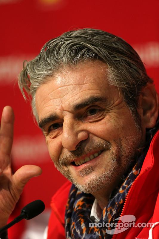 Maurizio Arrivabene, Scuderia Ferrari, Teamchef