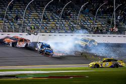 Sam Hornish Jr., Richard Petty Motorsports Ford e Alex Bowman, Tommy Baldwin Racing, Jeb Burton, BK