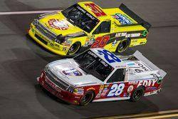 Ryan Ellis, FDNY Racing Chevrolet et Scott Laggase Jr., NTS Motorsports Chevrolet