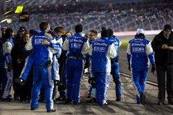 Brad Keselowski Racing Team feiert