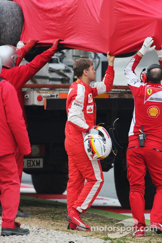 Sebastian Vettel, Ferrari SF15-T roda