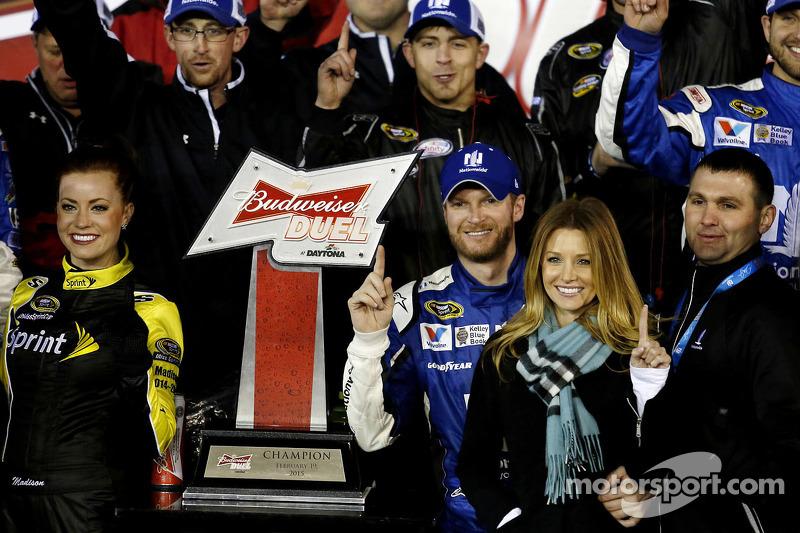 1. Dale Earnhardt jr., Hendrick Motorsports, Chevrolet