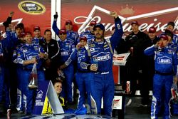 Vencedor Jimmie Johnson, Hendrick Motorsports Chevrolet