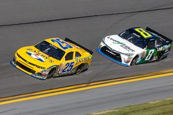 John Wes Townley, Athenian Motorsports Chevrolet and Blake Koch, TriStar Motorsport Toyota
