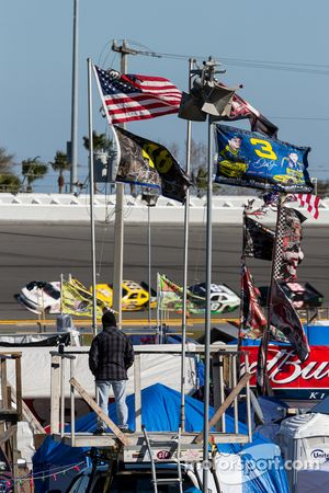 Infield flags