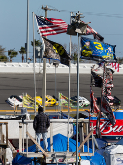Infield vlaggen