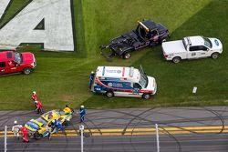 Regan Smith mit heftigem Unfall