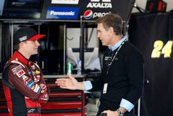 Jeff Gordon, Hendrick Motorsports Chevrolet with Ray Evernham