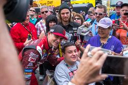 Jeff Gordon, Hendrick Motorsports Chevrolet com os fãs