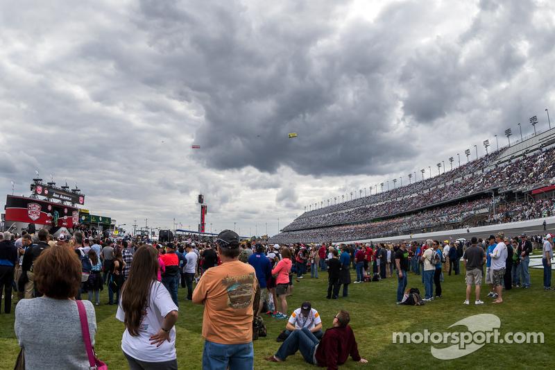 Clouds over Daytona