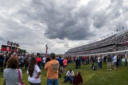 Nubes sobre Daytona