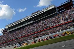 Largada: Jeff Gordon, Hendrick Motorsports Chevrolet lidera grid