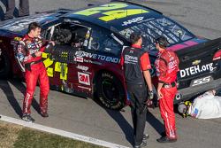 Danos de Jeff Gordon na última volta, Hendrick Motorsports Chevrolet