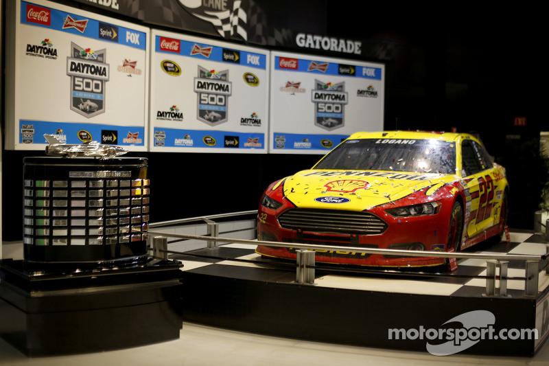 Das Auto von Joey Logano, Team Penske, Ford