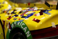 O carro de Joey Logano, Team Penske Ford