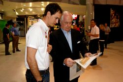 Joey Logano, Team Penske Ford with Roger Penske