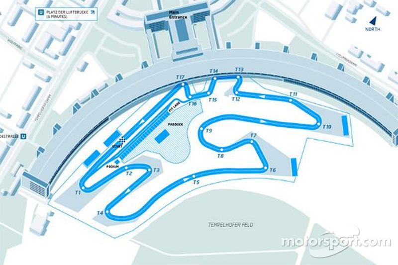Fórmula E revela diseño de la pista alemana