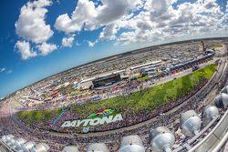 Blick über Daytona International Speedway